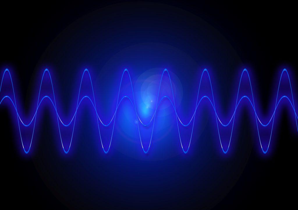 Slovenian voice over audio guide sine wave for Slovenian Voice Over website